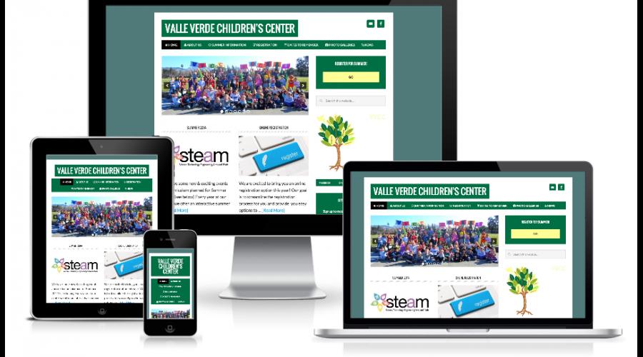 Valle Verde Children's Center Site with Online Registration