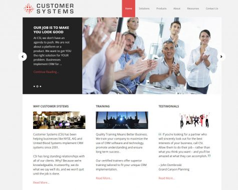 Customer Systems Inc