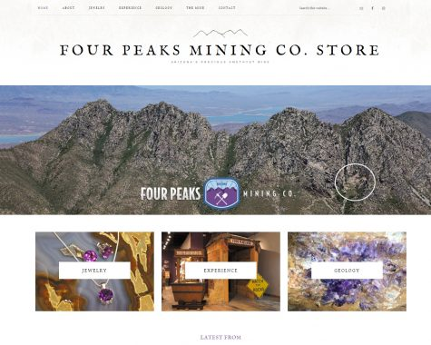 Four Peaks Mining Co. Store